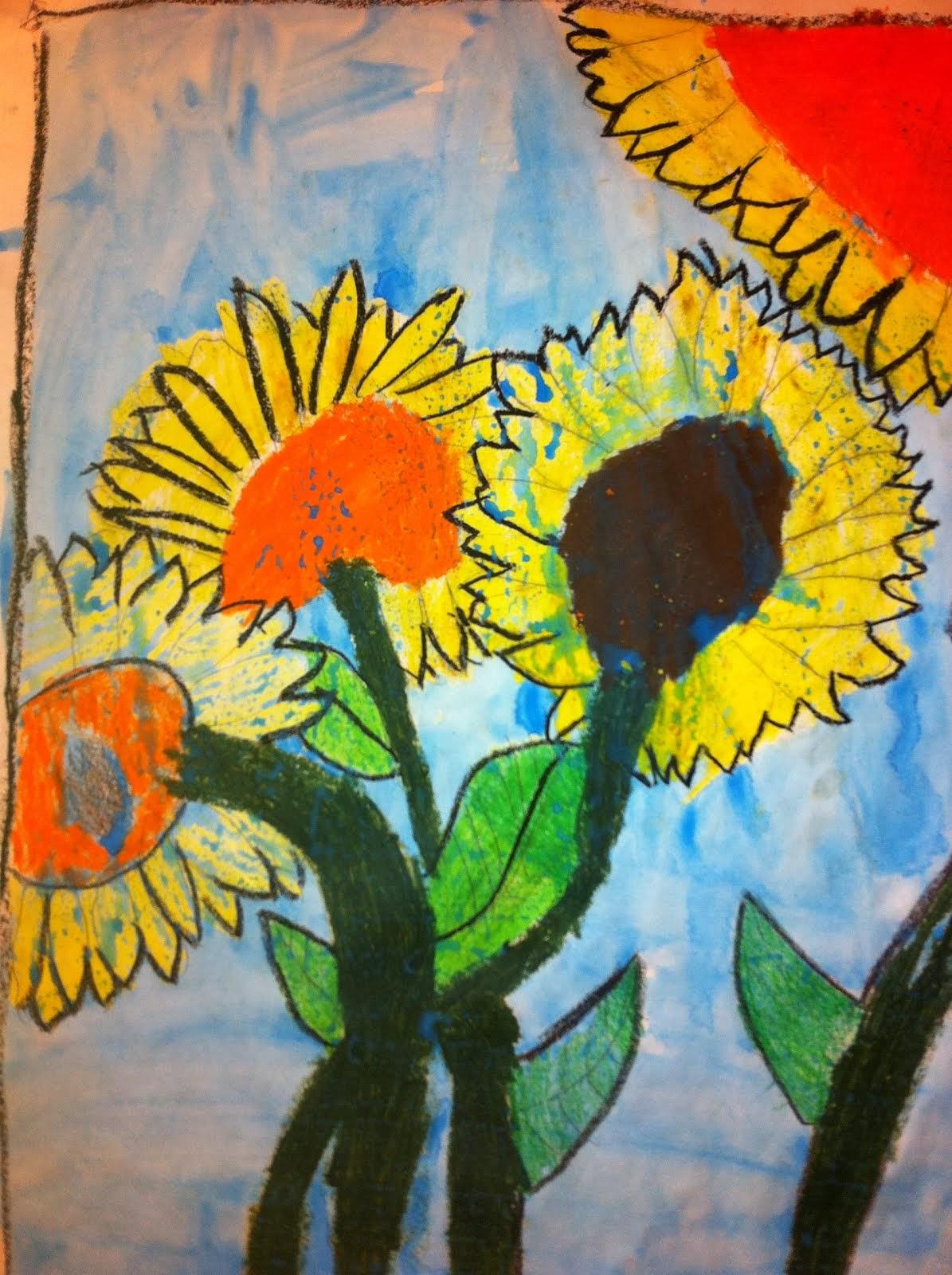 Sun meets Flower