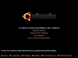 Booting Ubuntu