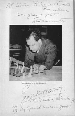 George Koltanowski concentrado