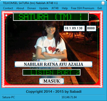 Download Inject TELKOMSEL SATURA (tm) Nabilah JKT48 V.1 2015