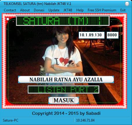 Download Inject TELKOMSEL SATURA (tm) Nabilah JKT48 V.1 2015