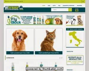 Petformance E-commerce cane gatto prodotti cura cane e gatto benessere animale prodotti naturali