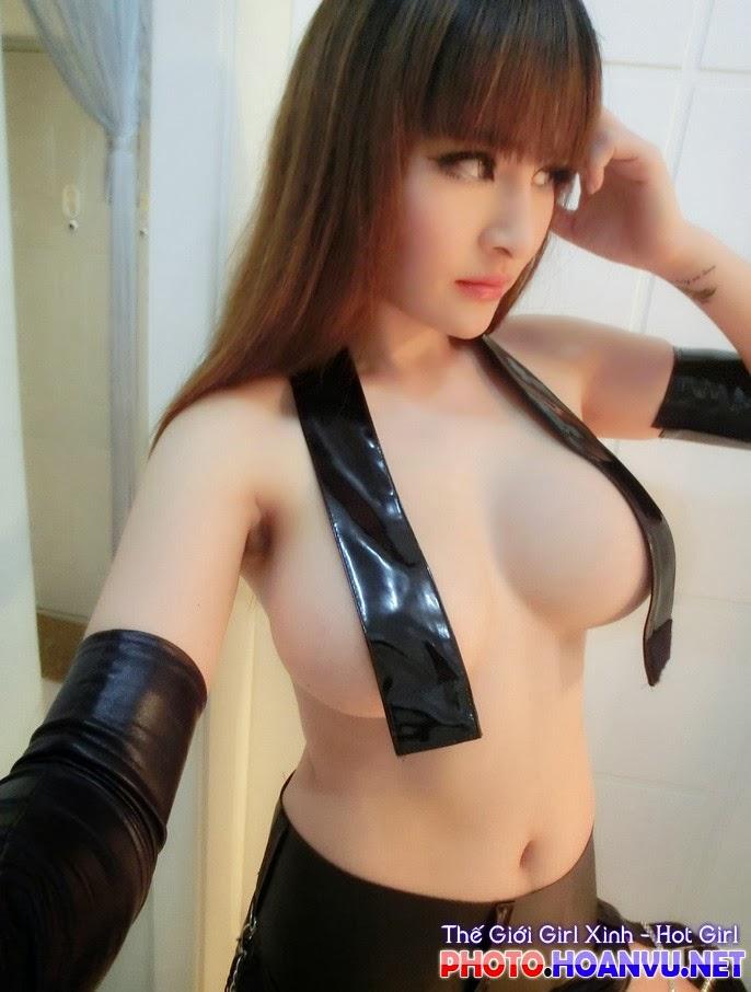 Ảnh Hot girl Suxia tự sướng khoe bưởi bá đạo 6