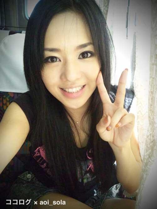 Foto terbaru sora aoi 2011