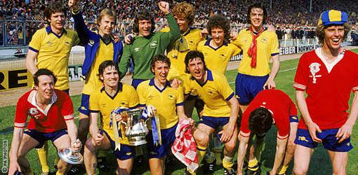 Arsenal 1979 FA Cup Final