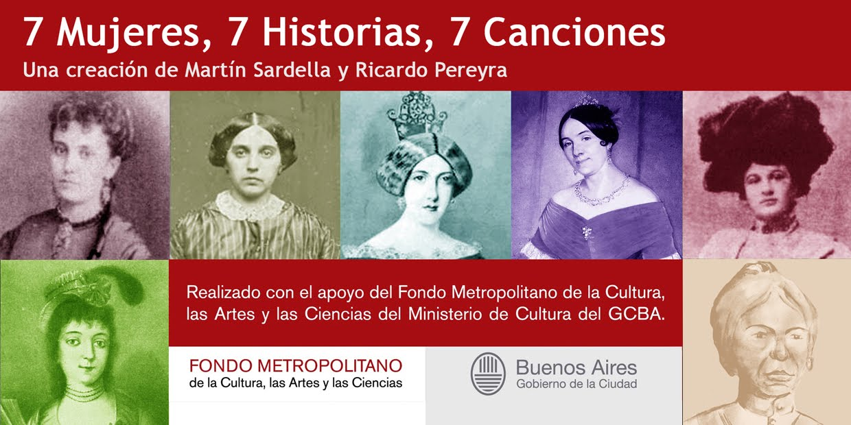 7 Mujeres, 7 Historias, 7 Canciones