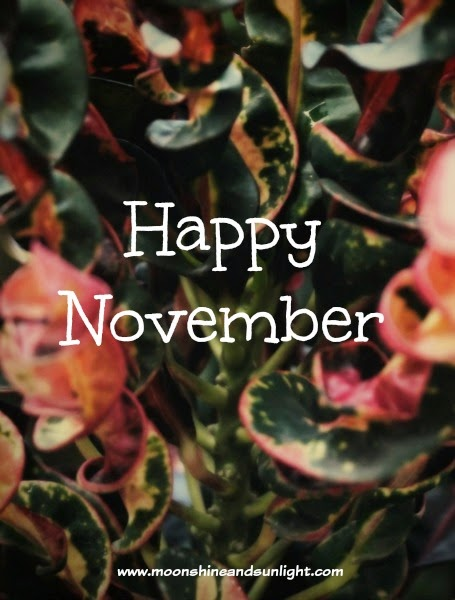 """Happy November"" Free wallpaper download"