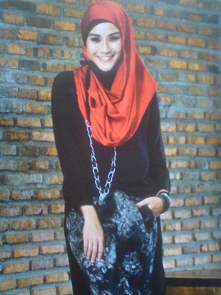 Zaskia Mecca Hijab Style Kumpulan Tutorial Memakai Jilbab Terbaru