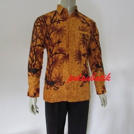 toko baju batik pria modern terbaru online murah