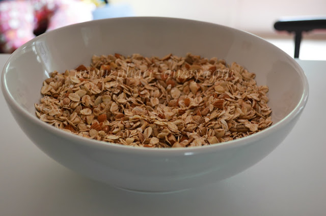 Making homemade granola is simple and delicious!