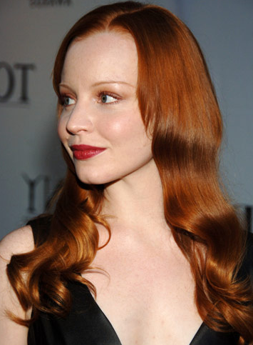 Red Hair Fashion 2011: Copper Red Hair Color 2011