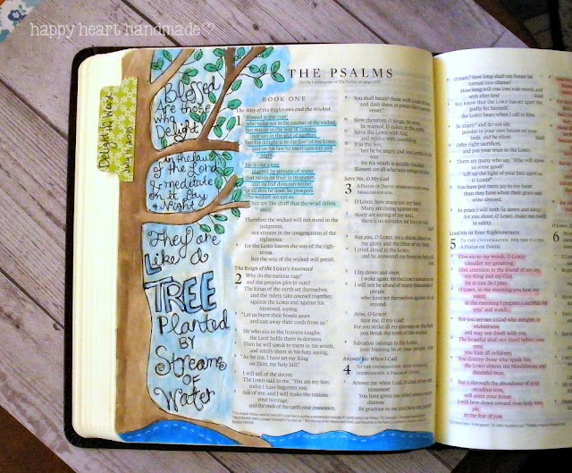 Bought A Bible Specifically For Adding Artsy Journaling I Found