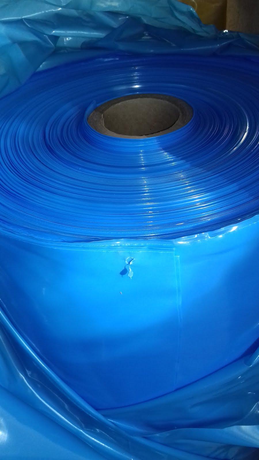 Lona azul virgem 4x100x50kg