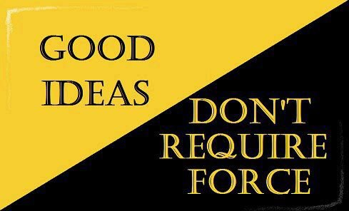 ideas don t require anonymous of revolution