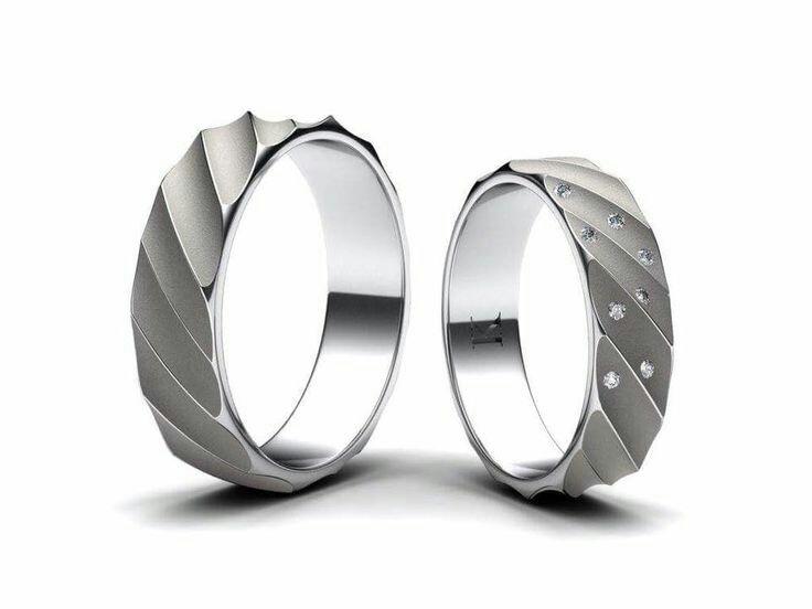 Wedding rings trend design