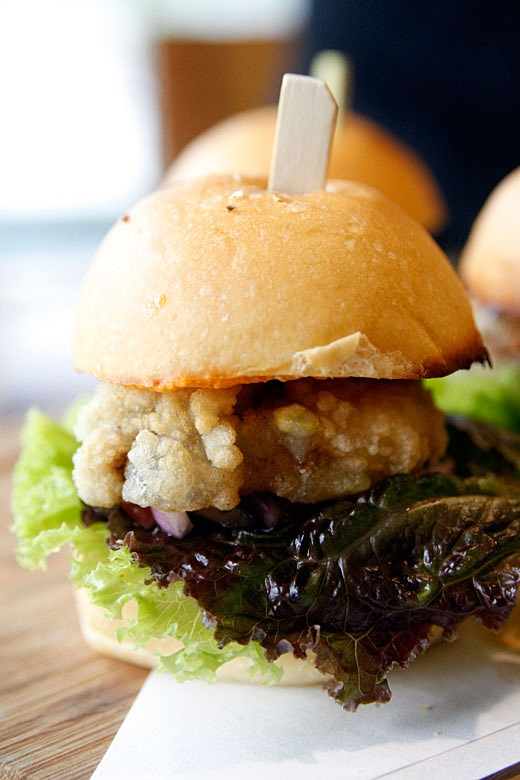 Nomama Artisanal Ramen Soft Shell Crab Sliders