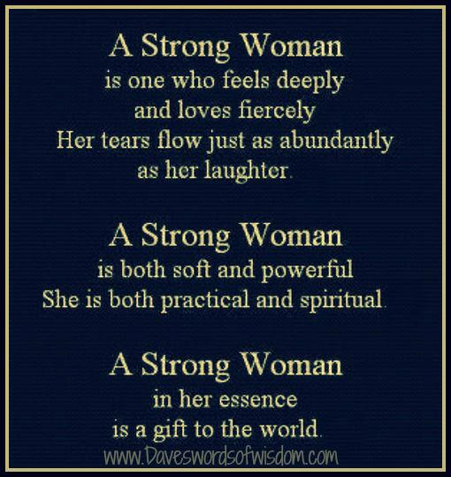 Daveswordsofwisdom.com: A Strong Woman