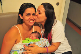 Nasceu o Raphael, em um VBA3C (parto normal após 3 cesáreas!) natural hospitalar !