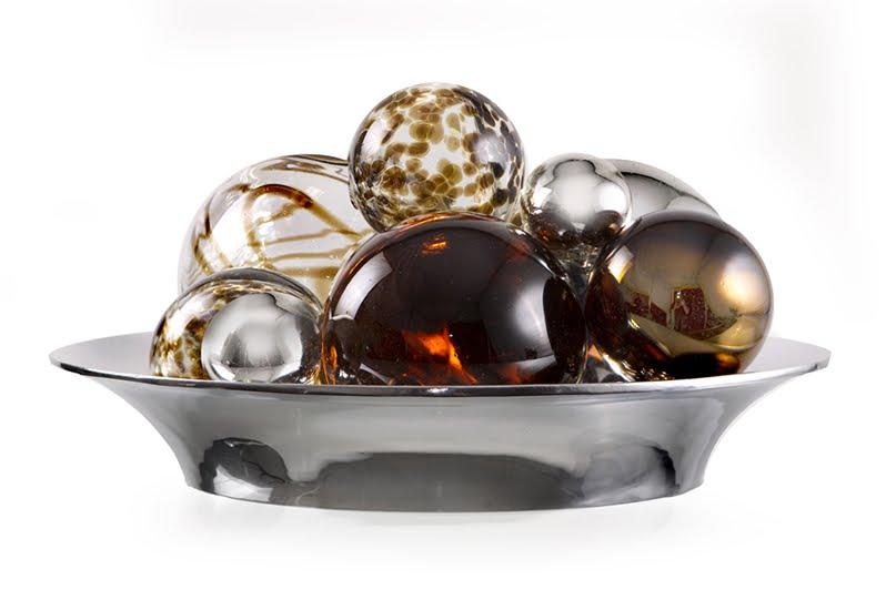 Covington*Design: Blown Glass Spheres