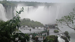 Walkway to the Falls, Iguazu Falls – Brazil Side Iguazu National Park Brazil