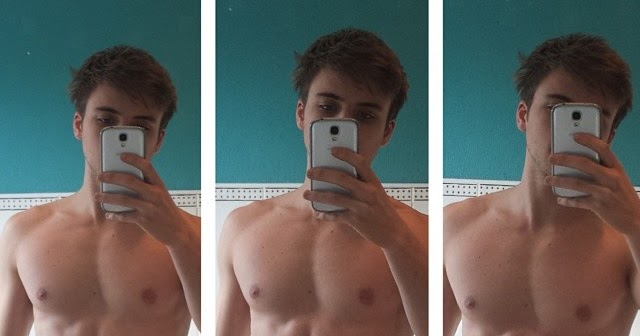 The Stars Come Out To Play: Thomas Lacey - Shirtless in