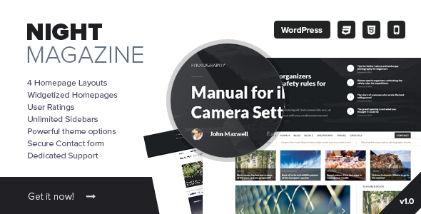 Free News and Magazine WordPress Theme 2015