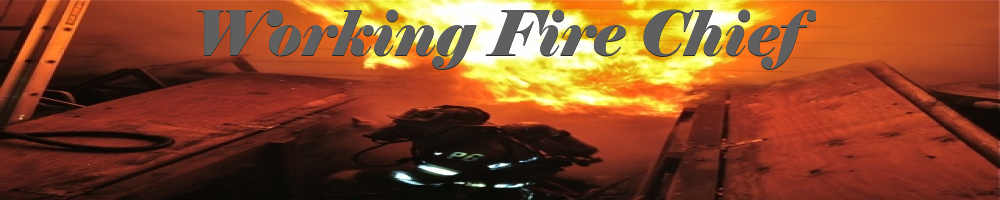 Working Fire Chief