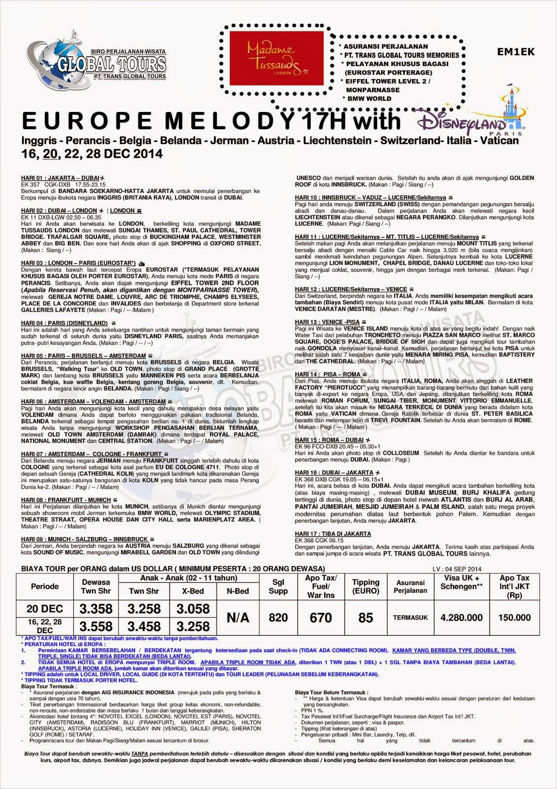 EUROPE MELODY