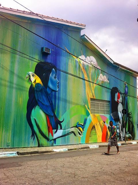New StreetArt Collaboration By Fin DAC, Angelina Christina and Nove DigitalOrganico in Vila Madalena, Sao Paulo  7