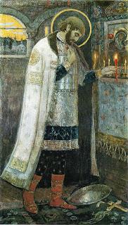 Михаил Нестеров. Князь Александр Невский. 1894–1897