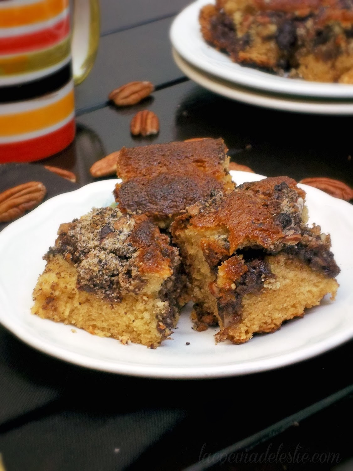 Mexican Chocolate Coffee Cake - lacocinadeleslie.com