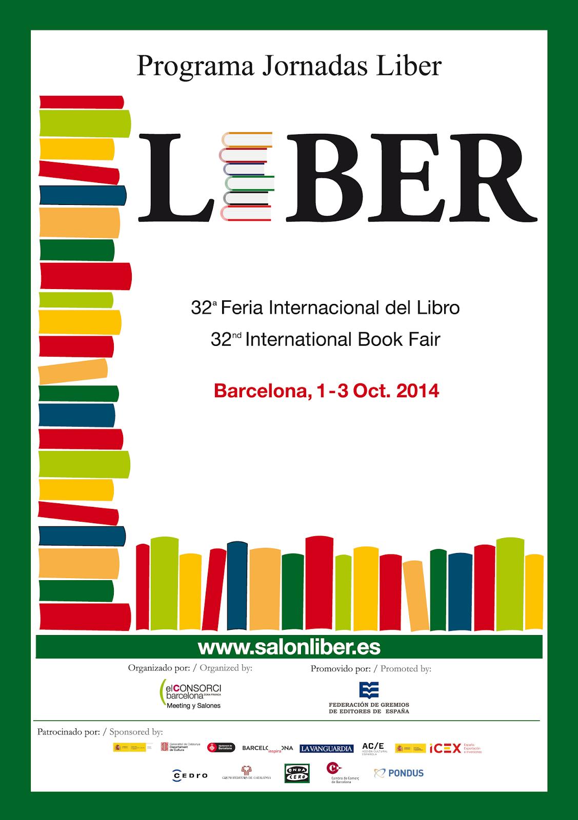 Programa jornadas LIBER 2014