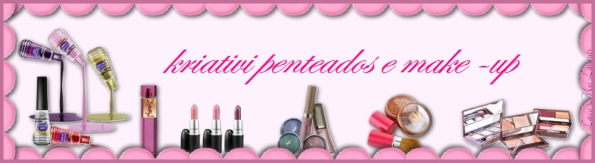 kriativi penteados e make-up