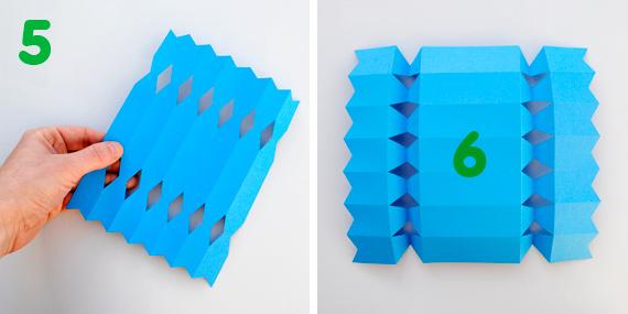 Как сделать конфету из бумаги поэтапно 963