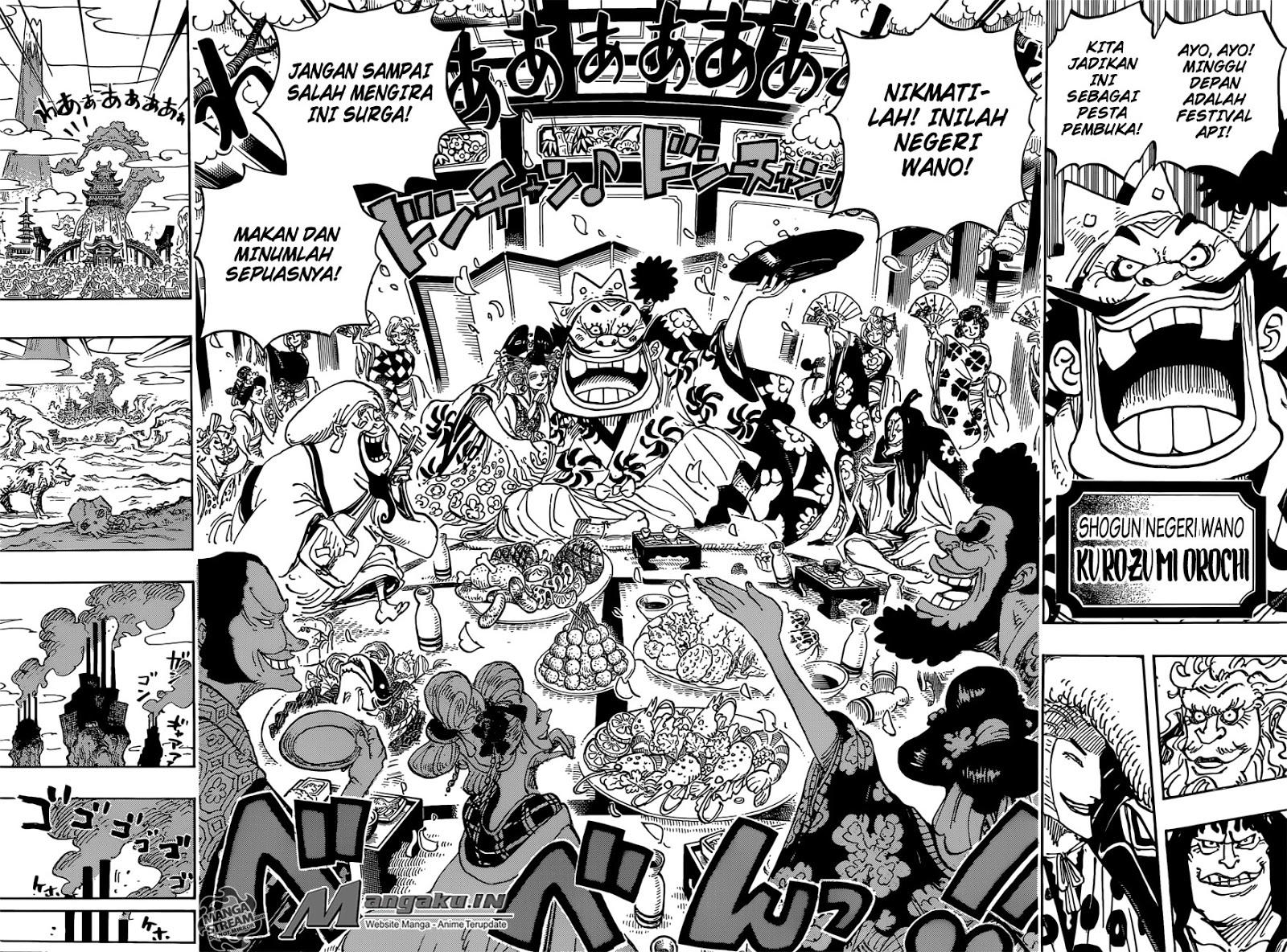 Komik One Piece Chapter 929 Sub Indo - Laco Blog
