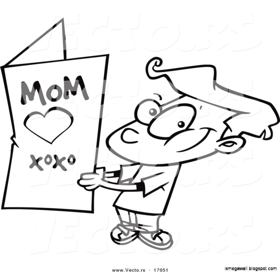 mothers day clip art cards picture