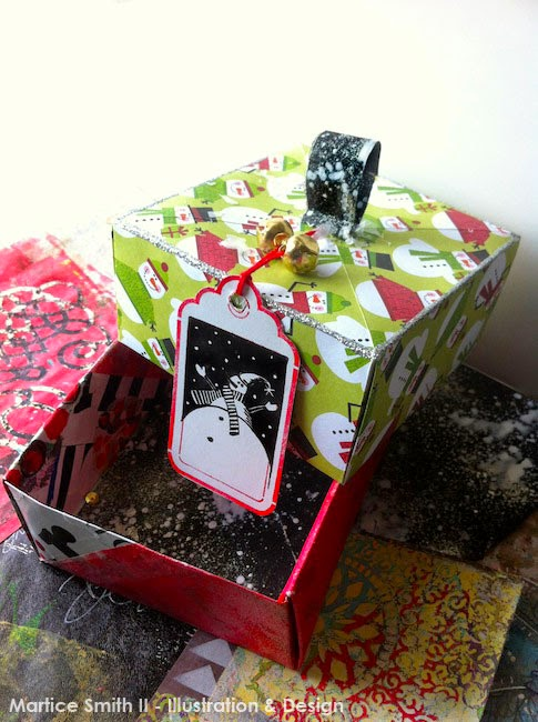 Origami Gift Boxes by artist Martice Smith II