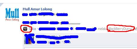update status facebook via blackberry tanpa blackberry facebook