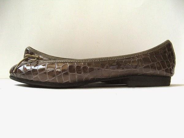 220 London Sole Shoes Size 9 5 Croc Patent Leather Flats