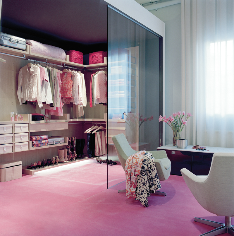 Woman Walk In Closet Design Ideas