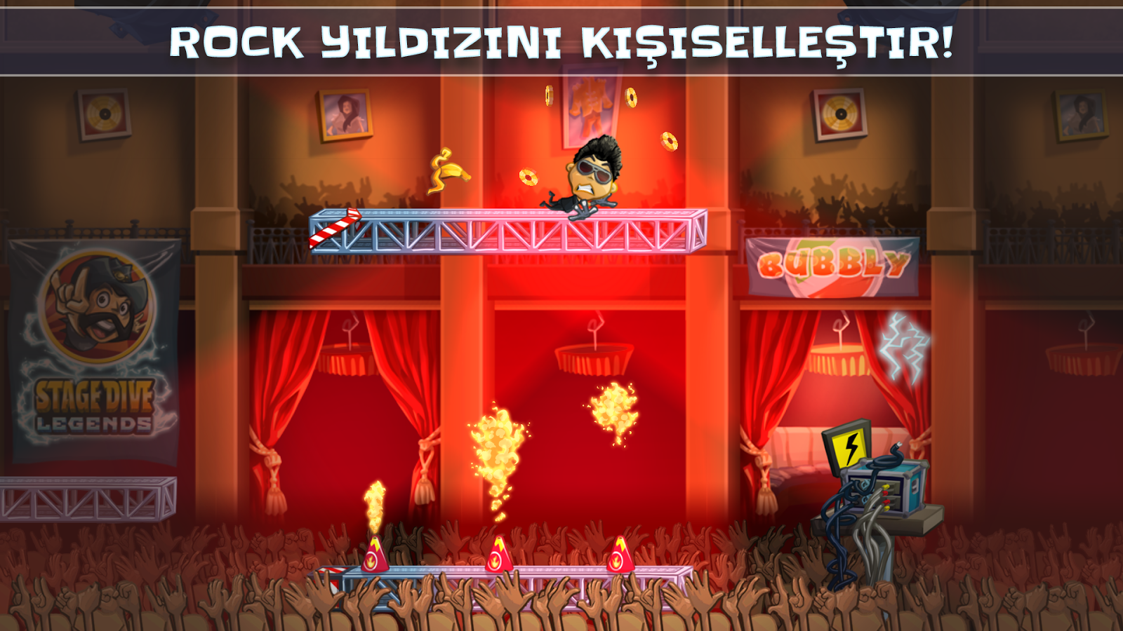 Stage Dive Legends Premium Apk Obb