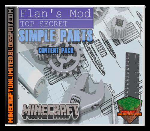 Simple Parts Flan's Mod Minecraft