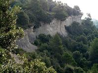 Estimbats sota el Serrat Rodó des del Coll de les Escaletes