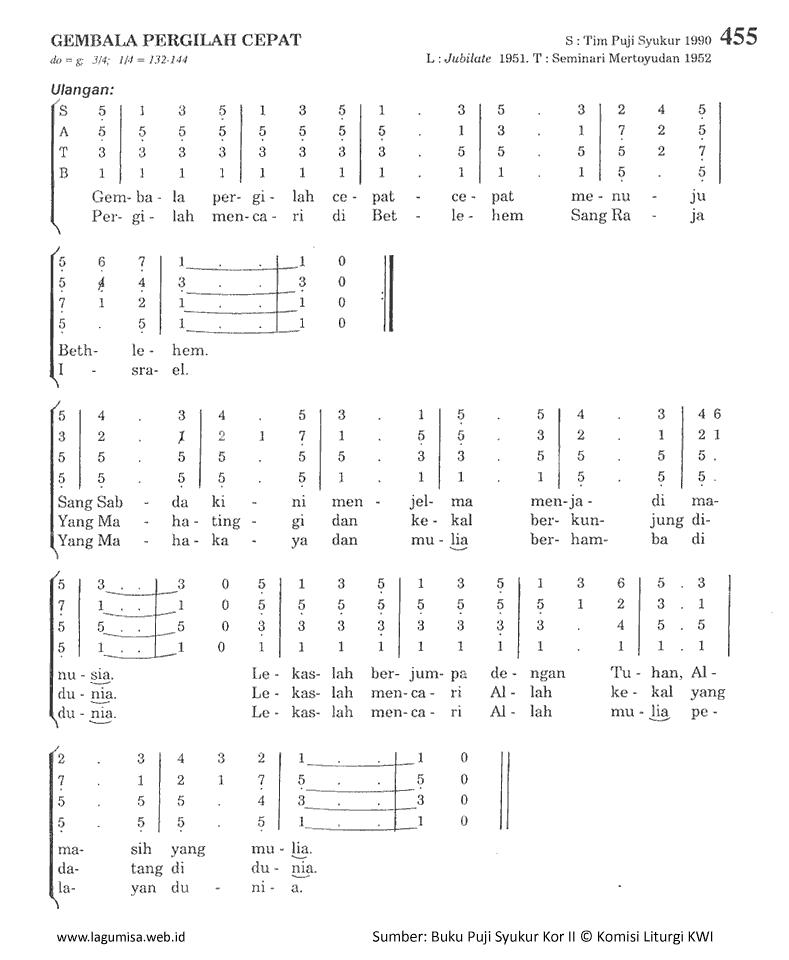 Chord Gitar Lagu Rohani Dia Raja: Lirik Dan Chord Lagu Gembala Pergilah Cepat