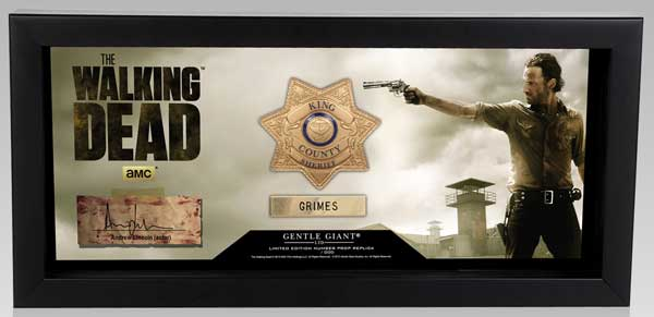 The Walking Dead, il distintivo di Rick Grimes (Gentle Giant)