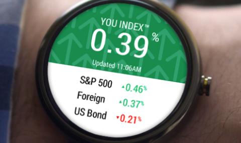 Personal Capital sur une montre