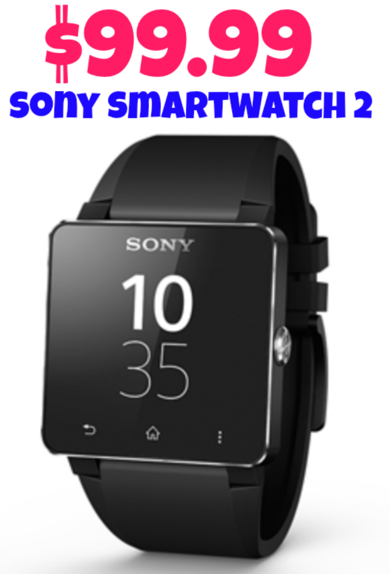 Dell: Sony SmartWatch 2 = $99.99 + FREE Shipping! Regularly $199