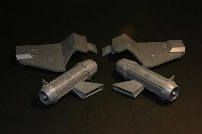 Alas y motores de la Stormraven