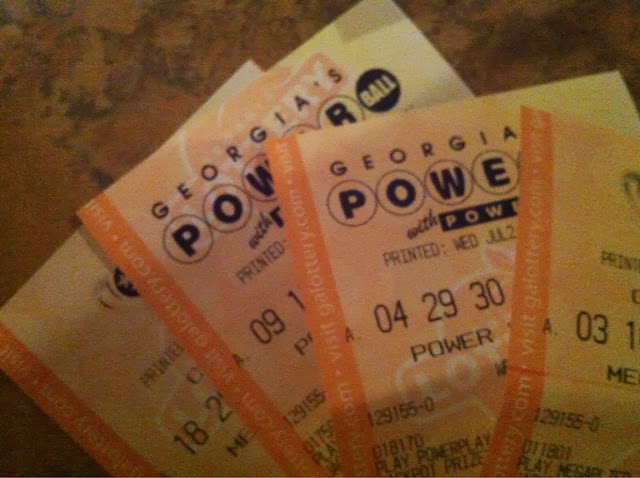 losing lottery tickets