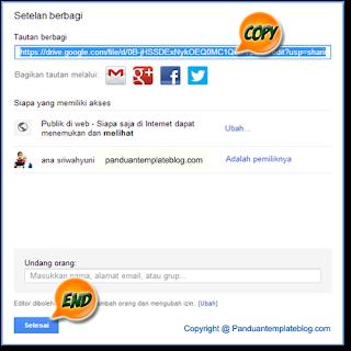 Google Drive: Hosting Gratis Upload File CSS, Javascript & Html Blog